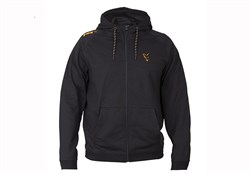 Толстовка Fox Collection Orange and Black Lightweight Hoodie - фото 10982