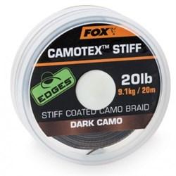 Поводочный материал Fox Camotex Stiff - фото 5462