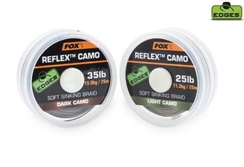 Поводковый материал Fox Edges Reflex Camo - фото 5686