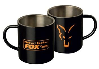 Кружка Fox Stainless Black XL 400ml Mug - фото 5841