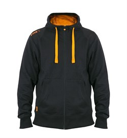 Толстовка Fox Black & Orange Lightweight Zipped Hoody - фото 7931