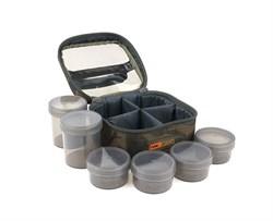 Кейс с баночками Fox Camolite Glug 6 Pot Case - фото 8335
