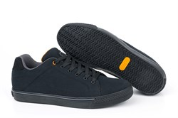 Кроссовки Fox Black and Orange Casual Trainers - фото 9157