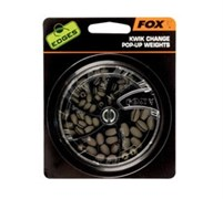 Набор грузил Fox Edges Kwik Change Pop Up Weights Dispenser