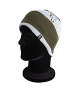 Шапка Fox Green and Silver Beanie