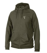Толстовка Fox Collection Green and Silver Lightweight Hoodie