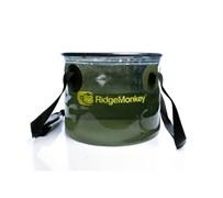 Ведро мягкое RidgeMonkey Perspective Collapsible Bucket 10L