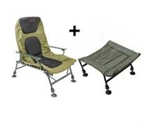 Кресло Brain Bedchair Compact с подставкой под ноги
