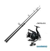 Карповый набор Sportex Advancer Carp Spod 13ft 5.50lb + Shimano Aerlex 10000 XTB Spod