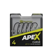 Крючки RidgeMonkey Ape-X Curve Barbed