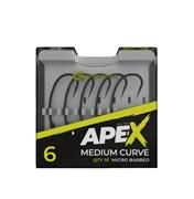 Крючки RidgeMonkey Ape-X Medium Curve Barbed