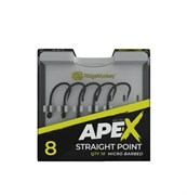 Крючки RidgeMonkey Ape-X Straight Point Barbed