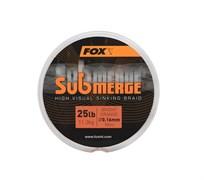 Плетеный шнур быстро тонущий Fox Submerge High Visual Sinking Braid 300м
