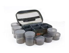 Кейс с баночками Fox Camolite Glug 8 Pot Case