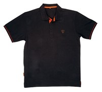 Футболка Fox Polo Shirt Black/Orange