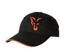 Бейсболка Fox Black and Orange Baseball Cap